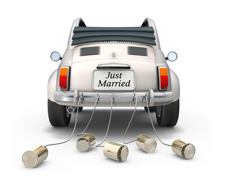Trucs et astuces pour un mariage r ussi edith magazine - Dessin voiture mariage ...